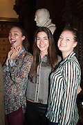 ALEXANDRA DE LLANNO; MARIA NEBREVA; ADELLE COHEN, The Almeida Theatre  celebrates Mike Attenborough's 11 brilliant years as Artistic Director. Middle Temple Hall,<br /> Middle Temple Lane, London, EC4Y 9AT