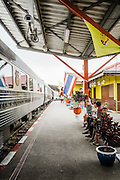 Kanchanaburi Thailand station, Eastern & Oriental Train