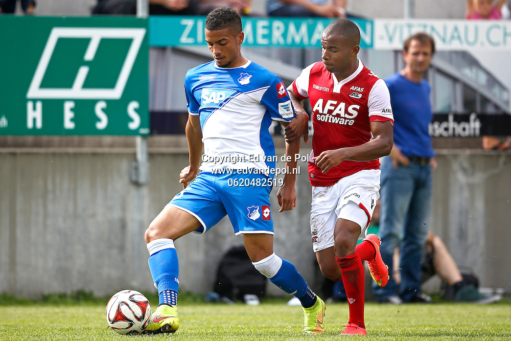 WEGGIS - 31-07-2014 - Hoffenheim - AZ,  Thermoplan Arena, oefenwedstrijd, 3-0,