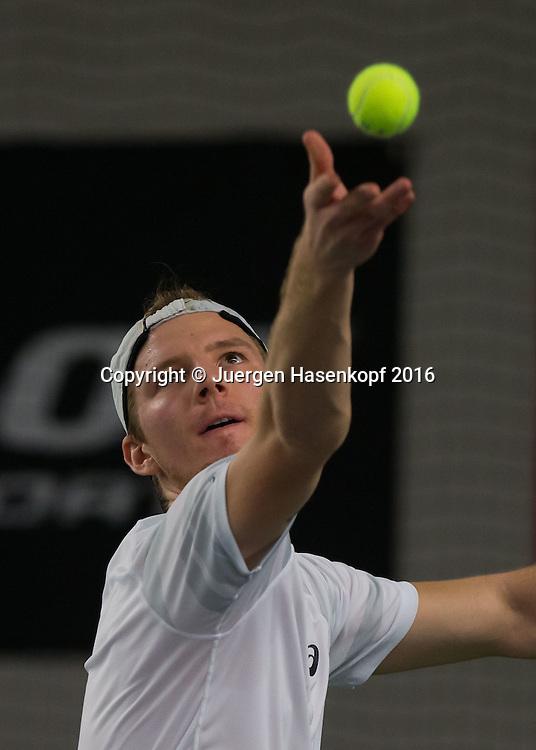 JANNIS KAHLKE (GER), 45. Deutsche Meisterschaften 2016 <br /> <br /> Tennis - Deutsche Meisterschaften 2016 - Deutsche Meisterschaften -   - Biberach an der Riss - Baden-Wuerttemberg - Germany - 15 December 2016. <br /> &copy; Juergen Hasenkopf