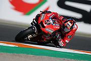 #9 Danilo Petrucci, Italian: Mission Winnow Ducati Team during the Gran Premio Motul de la Comunitat Valenciana at Circuito Ricardo Tormo Cheste, Valencia, Spain on 16 November 2019.