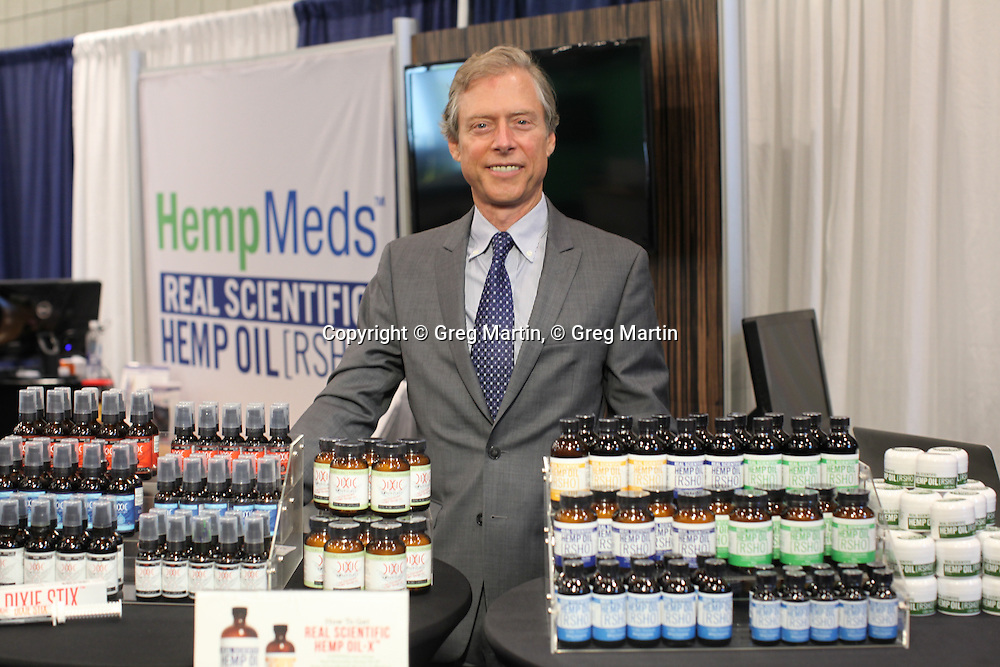 Stuart Titus from Medical Marijuana, Inc.<br /> CWCBExpo NYC