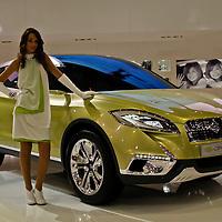 Suzuki S-Cross Concept at the Paris Motor Show 2012