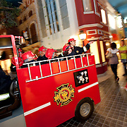 No parque infantil Kidzania. At Lisbon Kidzania childrens atraction