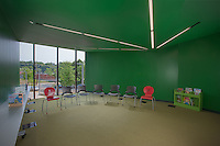 Interior Image of Washington DC Library WHL media room by Jeffrey Sauers of Commercial Photographics