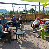 Rack and Cloth cider house and restaurant in Mosier, Oregon
