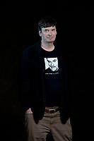 A portrait of Ian Rankin at the Edinburgh International Book Festival 2012 in Charlotte Square Gardens<br /> <br /> Pic by Pako Mera