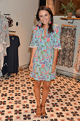 VENETIA FALCONER at a party to celebrate the launch of Matthew Williamson: Fashion, Print and Colouring Book held at Anthropologie, 158 Regent Street, London on 8th September 2016.