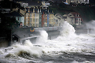 JAMES BOARDMAN / 07967642437.A train heads towards Darlish station in Devon, during a torrential downpour September 5, 2008..Almost a month's rainfall of 1.9in (50mm) is expected to fall on Wales and the south-west as autumn storms arrive early, with winds of up to 50mph also expected..
