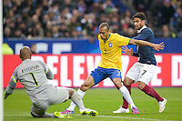 Joao MIRANDA / Nabil FEKIR - 26.03.2015 - France / Bresil - Match Amical<br />