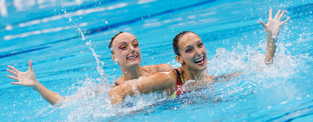 Boudreau Gagnon - Marcotte Canada CAN.Synchronized Swimming duet Final.London 2012 Olympics - Olimpiadi Londra 2012.day 12 Aug.7.Photo G.Scala/Deepbluemedia.eu/Insidefoto