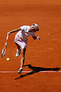 Roland Garros. Paris, France. June 10th 2006..Women's Final. Justine Henin-Hardenne against Svetlana.