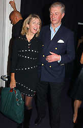 Actress LADY MARSHA FITZALAN-HOWARD and ALAN FRASER  at a party hosted by jeweller Theo Fennell and Dominique Heriard Dubreuil of Remy Martin fine Champagne Cognac entitles 'Hot Ice' held at 35 Belgrave Square, London, W1 on 26th October 2004.<br /><br />NON EXCLUSIVE - WORLD RIGHTS