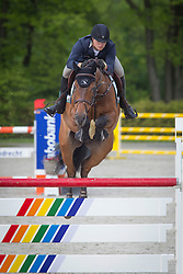Kuipers Doron (NED) - Zinius<br /> Finale KNHS-vdB CUP Young Riders 2012<br /> © Dirk Caremans