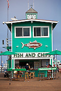 Fish and Chips Restaurant on the Avalon Pier at Catalina Island