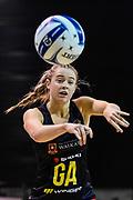 Monica Falkner of the Magic during the ANZ Premiership Netball match, Tactix V Magic, Horncastle Arena, Christchurch, New Zealand, 6th June 2018.Copyright photo: John Davidson / www.photosport.nz