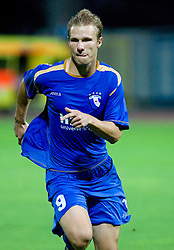 Gregor Balazic of Gorica at 1st football match of 2nd preliminary Round of UEFA Europe League between ND Gorica and FC Lahti, on July 16 2009, in Nova Gorica, Slovenia. (Photo by Vid Ponikvar / Sportida)