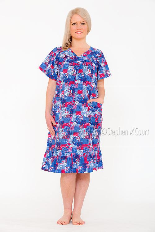 Short Sleeve Sundress Patch. Photo credit: Stephen A'Court.  COPYRIGHT ©Stephen A'Court