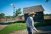 Rick Hammond, a Keystone XL opponent, on the family farm in Hordville, Nebraska.