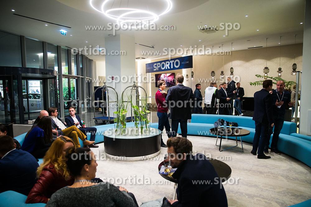 Sporto during Sports marketing and sponsorship conference Sporto 2017, on November 16, 2017 in Hotel Slovenija, Congress centre, Portoroz / Portorose, Slovenia. Photo by Vid Ponikvar / Sportida