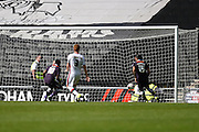 Derby County forward Darren Bent scores to make it 2-1 to Derby during the Sky Bet Championship match between Milton Keynes Dons and Derby County at stadium:mk, Milton Keynes, England on 26 September 2015. Photo by David Charbit.
