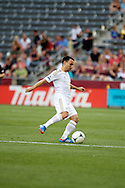 July 24th, 2012:  Swansea City AFC midfielder Leon Britton (7) with the ball in the Colorado Rapids 2-1 victory over visiting Swansea City AFC for a international friendly soccer match in Denver, CO.
