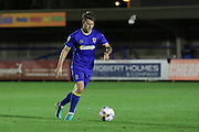 AFC Wimbledon midfielder Jake Reeves (8) during the EFL Trophy match between AFC Wimbledon and U23 Swansea City at the Cherry Red Records Stadium, Kingston, England on 30 August 2016. Photo by Stuart Butcher.