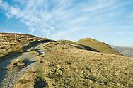 Easy going along the grassy ridge of Skelgill Bank