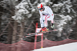 21.02.2013, Kandahar, Garmisch Partenkirchen, AUT, FIS Weltcup Ski Alpin, Abfahrt, Herren, 1. Training, im Bild Joachim Puchner (AUT) // Joachim Puchner of Austria in action during 1st practice of the  mens Downhill of the FIS Ski Alpine World Cup at the Kandahar course, Garmisch Partenkirchen, Germany on 2013/02/21. EXPA Pictures © 2013, PhotoCredit: EXPA/ Johann Groder