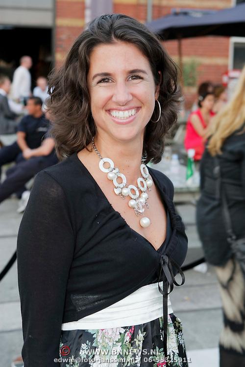 NLD/Amsterdam/20080725 - Modeshow Monique Collignon tijdens de AIFW 2008, Ellen Fennis