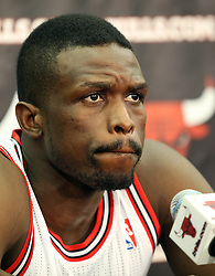 11.12.2011, The Berto Center, Deerfield, USA, NBA, Chicago Bulls Medien Tag, im Bild LUOL DENG CHICAGO BULLS // during Chicago Bulls Media Day at the Berto Center, Deerfield, United Staates on 2011/12/11. EXPA Pictures © 2011, PhotoCredit: EXPA/ Newspix/ Kamil Krzaczynski..***** ATTENTION - for AUT, SLO, CRO, SRB, SUI and SWE only *****