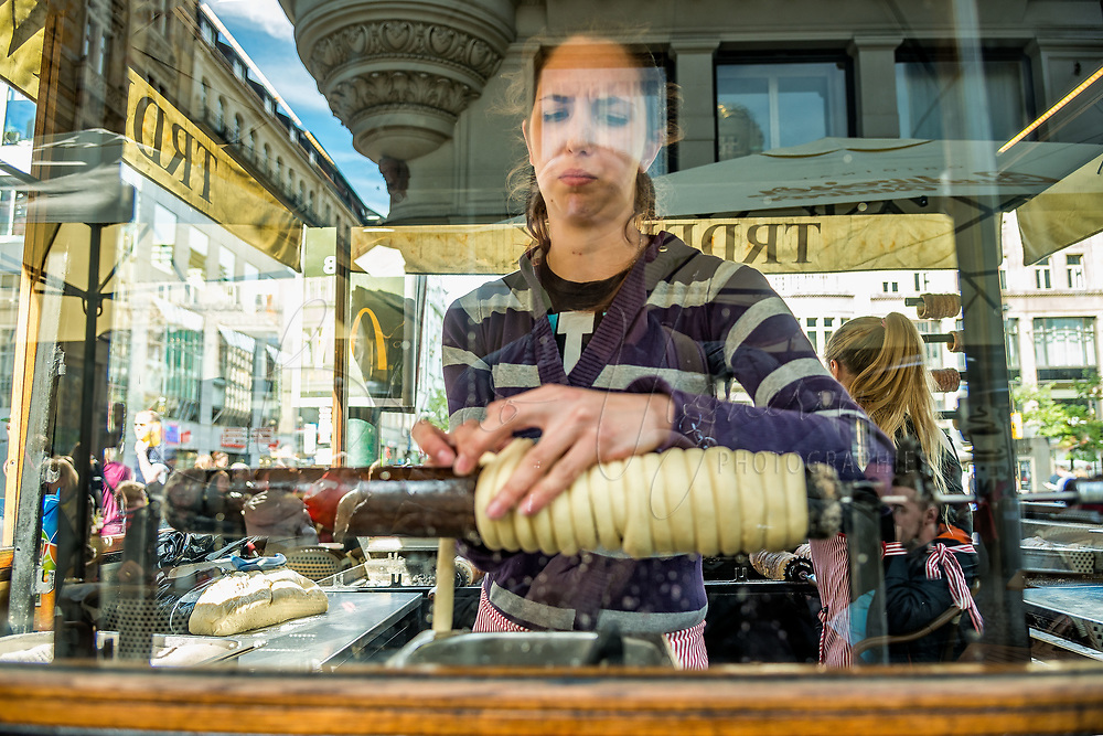Prague, la ville aux mille tours et mille clochers, n&rsquo;a pas seulement inspire Andre Breton et les surrealistes. Chaque annee, la belle Tcheque seduit des millions d&rsquo;admirateurs du monde entier. Monuments, fa&ccedil;ades et statues racontent une histoire mouvementee ou planent les ombres du Golem, de Mucha ou de Kafka.<br /> Depuis 1992, le centre ville historique est inscrit sur la liste du patrimoine mondial par l'UNESCO<br /> <br /> Le trdelnik, patisserie aussi celebre que le pont Charles