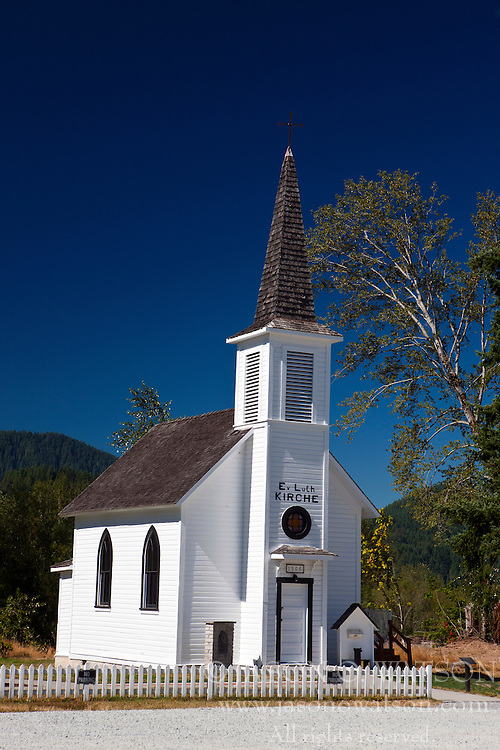Elbe Evangelical Lutheran Church, Elbe, Washington, United States of America