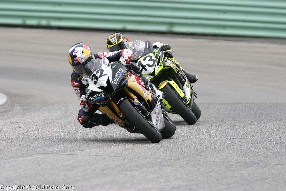 AMA Pro GoPro Daytona SportBike Qualifying during the 2013 Subway SuperBike Doubleheader held at  Road America,  Elkhart Lake,  WI. on May 31, 2013.
