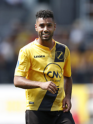 Anouar Kali of NAC Breda during the Pre-season Friendly match between NAC Breda and EDS Team Manchester City at Rat Verlegh stadium on August 04, 2018 in Breda, The Netherlands