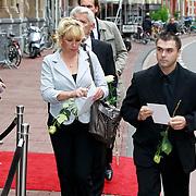NLD/Amsterdam/20110722 - Afscheidsdienst voor John Kraaijkamp, ...................