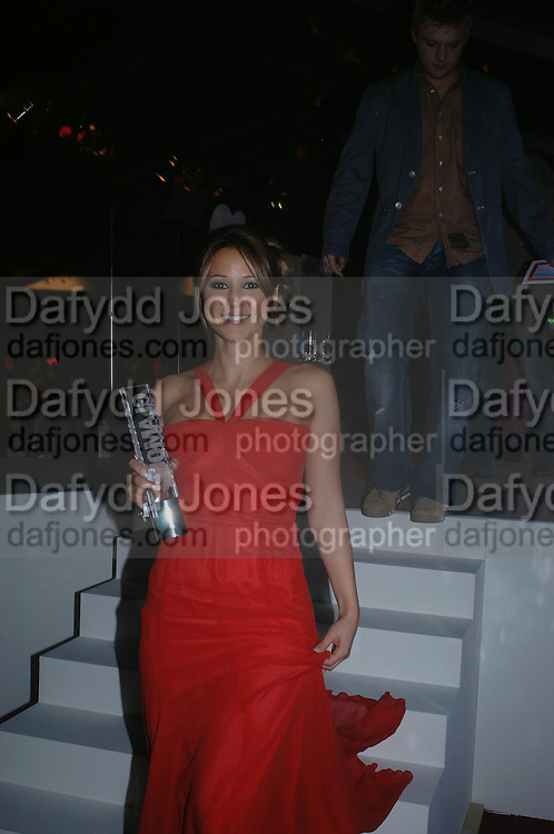 Rachel Stevens. Glamour Women Of The Year Awards 2005, Berkeley Square, London.  June 7 2005. ONE TIME USE ONLY - DO NOT ARCHIVE  © Copyright Photograph by Dafydd Jones 66 Stockwell Park Rd. London SW9 0DA Tel 020 7733 0108 www.dafjones.com