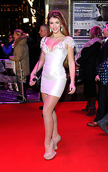 Amy Willerton Clement during the Flight UK film premiere, Empire Leicester Square, London, United Kingdom, January 17, 2013. Photo by i-Images.