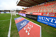 Sky Bet 3D advertising mat in front of the Big Bank before the EFL Sky Bet League 2 match between Exeter City and Grimsby Town FC at St James' Park, Exeter, England on 29 December 2018.