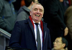 LIVERPOOL, ENGLAND - Thursday, March 10, 2016: Liverpool's Chief Executive Officer Ian Ayre before the UEFA Europa League Round of 16 1st Leg match against Manchester United at Anfield. (Pic by David Rawcliffe/Propaganda)