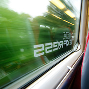 Gatwick Express, the high speed train from downtown London to Gatwick Airport