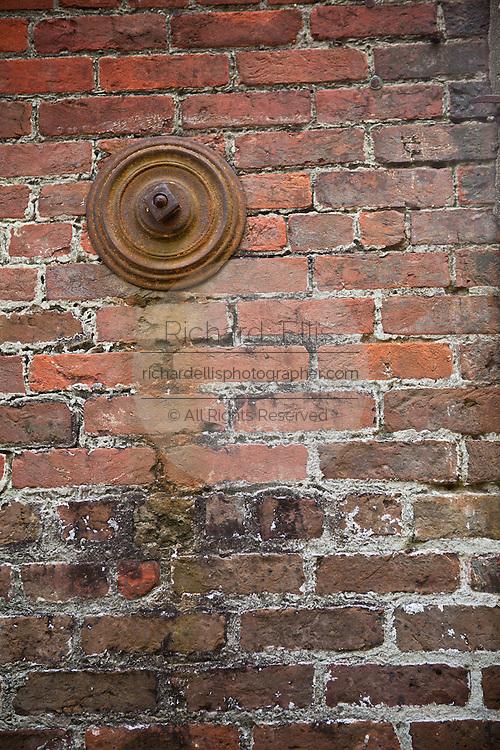 Earthquake bolt or gib plate on a old building Charleston, SC.