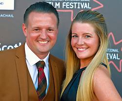 Edinburgh International Film Festival, Saturday, 24 June 2018<br /> <br /> STEEL COUNTRY (WORLD PREMIERE)<br /> <br /> Pictured:  Scott Kyle and his wife Karen<br /> <br /> (c) Alex Todd   Edinburgh Elite media