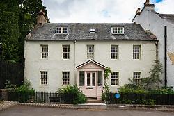Former house in Dunkeld, Perthshire, Scotland, UK