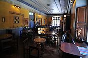 Cafe restaurant in Potosi, Bolivia