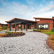 Modern Designed exterior residence in Portland Oregon