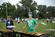 Shadow Armada practice in Albany, Wisconsin on July 15, 2015.