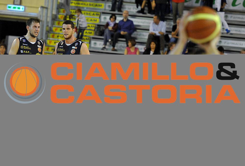 DESCRIZIONE : Ferentino LNP DNA Adecco Gold 2013-14 FMC Ferentino Manital Torino<br /> GIOCATORE : Mancinelli Stefano, Amoroso Valerio<br /> CATEGORIA : curiosit&agrave;<br /> SQUADRA :  Manital Torino<br /> EVENTO : Campionato LNP DNA Adecco Gold 2013-14<br /> GARA : FMC Ferentino Manital Torino<br /> DATA : 06/10/2013<br /> SPORT : Pallacanestro<br /> AUTORE : Agenzia Ciamillo-Castoria/M.Greco<br /> Galleria : LNP DNA Adecco Gold 2013-2014<br /> Fotonotizia : Ferentino LNP DNA Adecco Gold 2013-14 FMC Ferentino Manital Torino<br /> Predefinita :