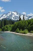 Mount Shuksan, Nooksack River
