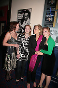 MORVEN MACBETH,  BLINNE NI GHRŒLAIGH, DIANE FLETCHER and CHARLOTTE LUCAS,, Opening night of 'Called To Account' The Tricycle  Theatre. London. 23 April 2007.  -DO NOT ARCHIVE-© Copyright Photograph by Dafydd Jones. 248 Clapham Rd. London SW9 0PZ. Tel 0207 820 0771. www.dafjones.com.